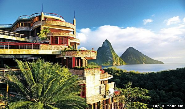 Jade Mountain Resort, Сент-Люсия
